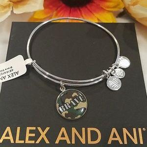 Alex and Ani 'BRAVE' bangle bracelet